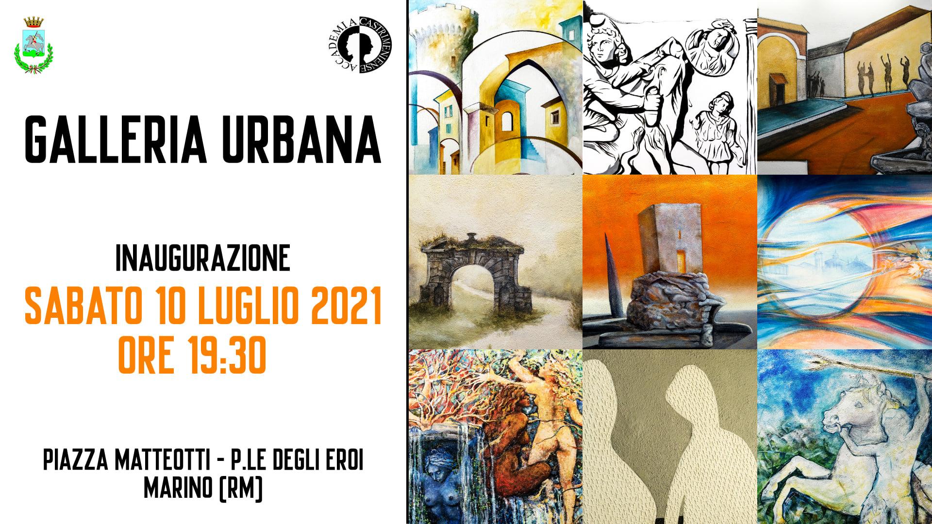 INAUGURAZIONE SOTTOPASSO Galleria Urbana.
